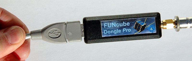 FUNcube Antennenanschluss und USB Verlängerung