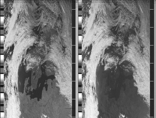 NOAA-16 IR und NIR am 24.09.2000