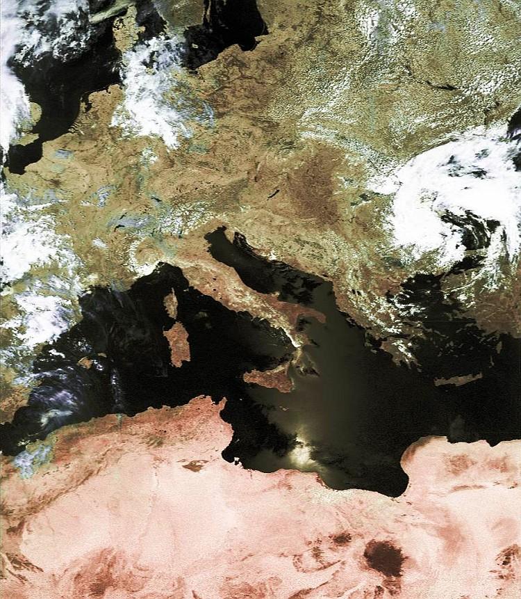 Ausschnitt NOAA-17 24.06.2005 0948 UTC
