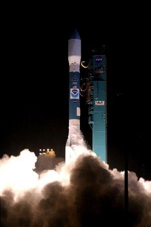 NOAA N Prime Start (c) NASA/VAFB