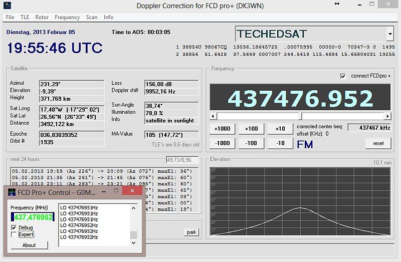 Satcontrol FCDplus