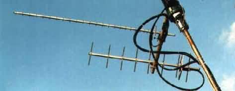 Yagi Antenne für METEOSAT-Empfang