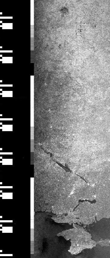 Radarbild von SICH-1