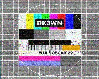 SSTV FO-29 Scottie DX