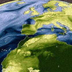 Wasserdampf Verteilung WV E2